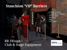 Stanchions 'VIP' Barriers Set