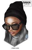 MIRROR - Lamour Glasses - Black