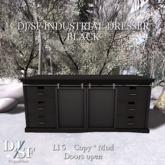 DJ / SF Industrial Dresser - Black - Boxed