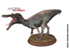 Art Studio.FULL PERM - Baryonyx Walkeri Statue