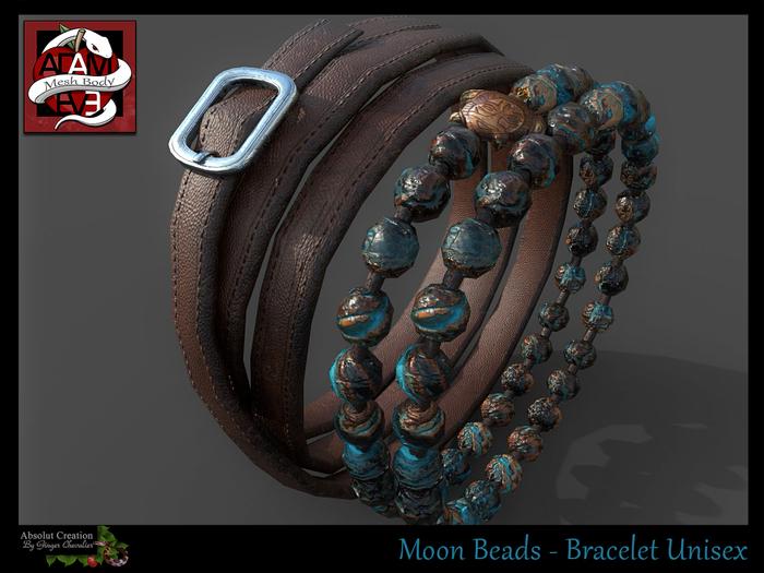 Moon Beads Bracelet Unisex