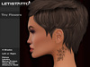 Letis Tattoo :: Tiny Flowers :: Neck Tattoo With Appliers