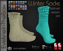 [EvelineIntheBox] Winter Socks