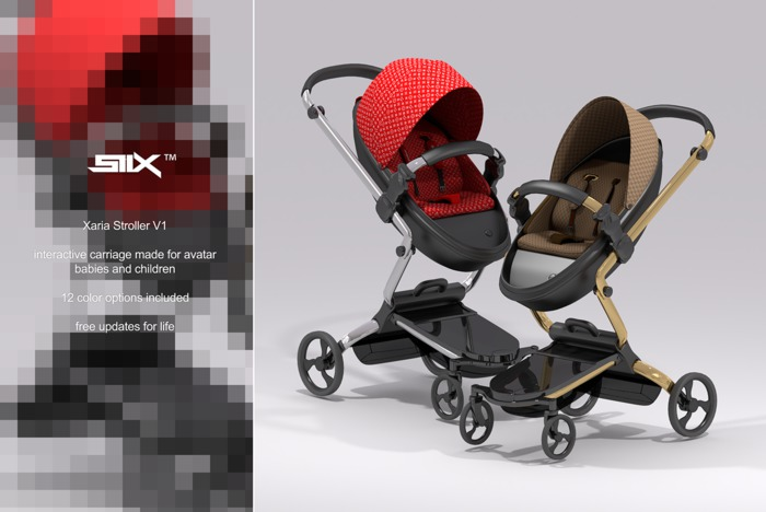 SIIX// Xaria Illuminate Stroller V1 - sale price 999