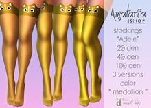 "`PROMO` Amataria - Stockings ""Adele"" - medallion"