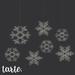 tarte. snowflake lights
