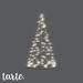 tarte. tomato cage tree (white lights)