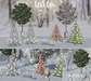 tarte. assorted holiday trees - FULL SET