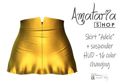 "`PROMO` Amataria - Skirt ""Adele"" - medallion"
