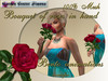 Bouquet of roses in hand, Bento animations, Red _006_11