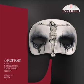 +INVERTED+ Christ Mask -The Nun-