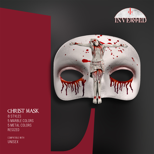 +INVERTED+ Christ Mask -Bloody Nun-