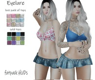 DEMO Eyelure Tiny Tied Top - Solids Fatpack/LOVE Fatpack