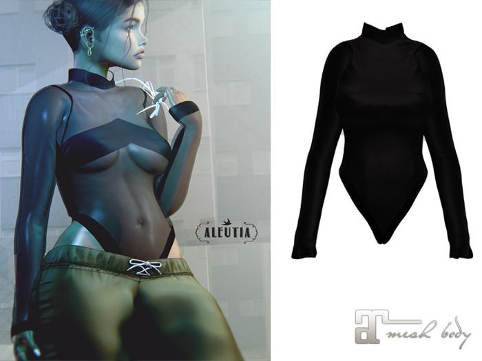 [Aleutia] Ashlee Bodysuit (Maitreya) - Black