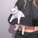 Sweet Thing. Cabootie Cat - Arm Hold (Static posed pet kitty, hold on your arm) 12 fur colors