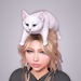 Sweet Thing. Cabootie Cat - Head Plop (Static posed pet kitty laying on your head)