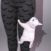 Sweet Thing. Cabootie Cat - Leg Clingu (Static posed pet kitty with paws wrapped around your leg - 12 fur colors)
