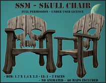 SSM - Skull Chair