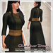 [V/W] Chandaar Dress Moss - Medieval fantasy fine tunic & leggings, FitMesh + Slink, Belleza,Tonic.. - Medieval dress