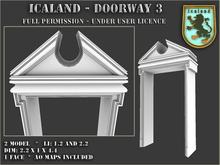 Icaland - Doorway 3