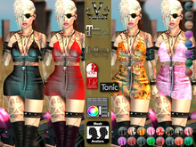 V-Twins- Casual Clothes - Fyre Casual Version **MESH Outfit [Mesh Bodies Compatible] Maitreya Slink Belleza