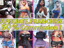 ADN FRANCHISE Affiliate program Vendor Commission 50%
