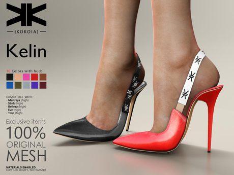 Kelin :: Woman Shoes :: 10 Colors :: {kokoia}