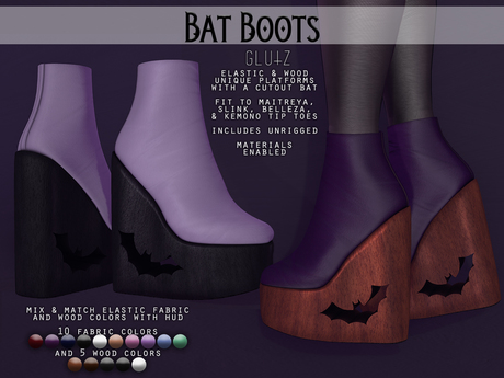 glutz . bat boots