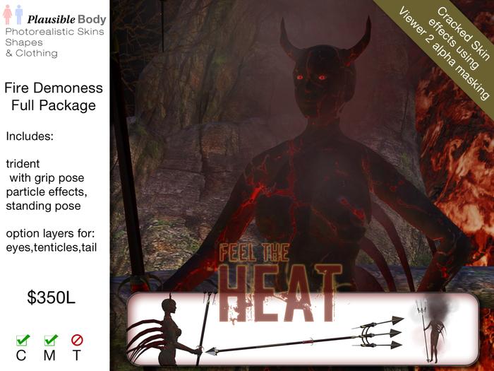Smokin Hot - Fire Demoness
