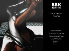 BouBouKi: Gigi Dress Black (Add Me) Boxed