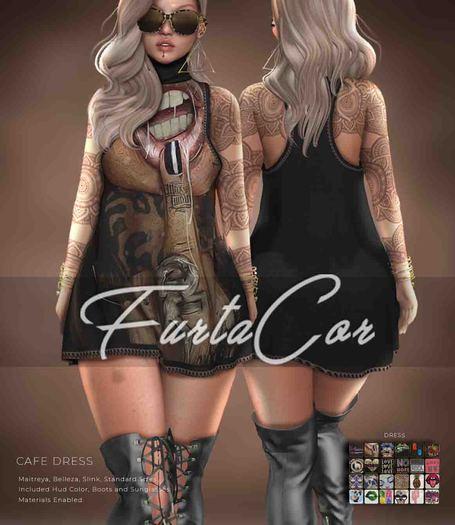::::[FurtaCor Female]  Cafe Set