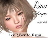 """Rina Shape """"LAQ Bento Rina Head"""""""