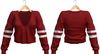 Blueberry - Juju - Sweaters - Red