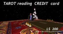 Tarot reading Credit card 200