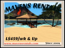 Maven Rentals Information NC Islands