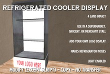 Clover Farms Refrigerated Display Cooler