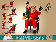 [Luftmensch Crafts] Santa Claus with Animations