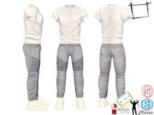 SAVE Full Perm Men's Jeans Outfit 3in1 Signature, Belleza Jake, Ocacin Gamit, Adin, Slink, Onupup