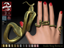Snake Ring Jewelry AC