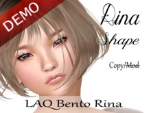"Rina Shape ""LAQ Bento Rina Head"" Demo"