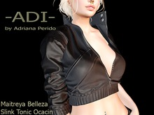 -ADI-Trento Jacket Black Maitreya Belleza Slink Ocacin Tonic