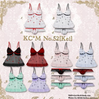 11.KC*M No.52[Kei]Panties(Black)