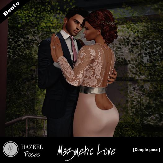 .::Hazeel::. Magnetic Love ~ Couple Bento
