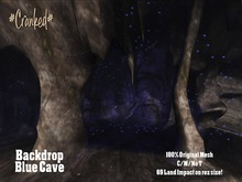 #Cranked# Backdrop Blue Cave (Boxed HUD. Wear me)