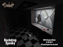 #Cranked#  Backdrop Spooky  (Boxed HUD. Wear me)