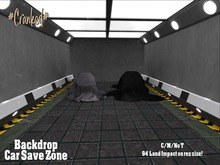 #Cranked# Backdrop Car Save Zone  (Boxed HUD. Wear me)