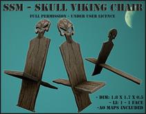 SSM - Skull Viking Chair