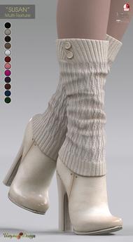 "**UTOPIA@Design** - ""SUSAN"" - Multi-Texture - Maitreya, Slink, Belleza"