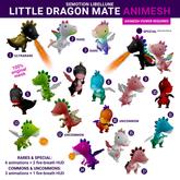 SEmotion Libellune Little Dragon Mate Animesh #16 UNCOMMON