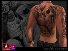 Tattoo Kiss of the dead AC